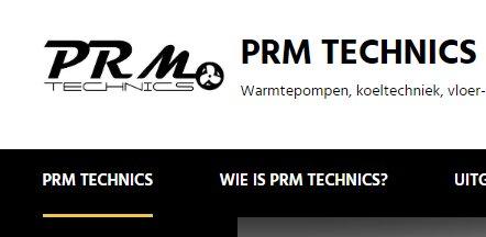 PRM technics : warmtepompen,... -Serskamp